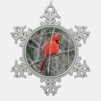 Royal Red Cardinal Christmas Ornament