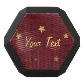 Royal Red Golden Stars Customizable