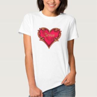 Royal Red Heart Shirts