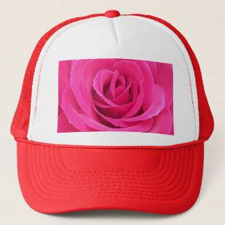 Royal Red Rose Trucker Hat