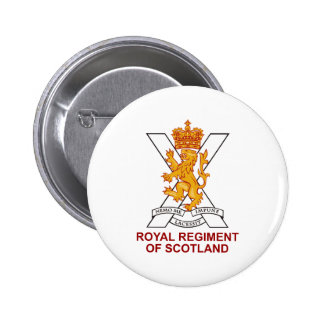 Royal Regiment of Scotland 6 Cm Round Badge