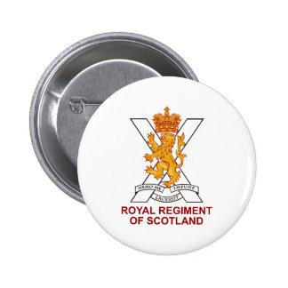 Royal Regiment of Scotland 6 Cm Round Badge