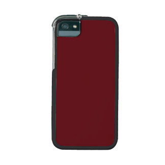 Royal Rose Red in an English Country Garden iPhone 5 Cover