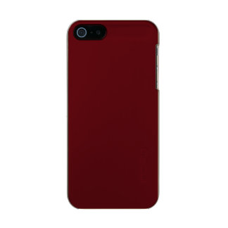 Royal Rose Red in an English Country Garden Incipio Feather® Shine iPhone 5 Case