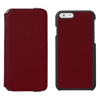 Royal Rose Red in an English Country Garden Incipio Watson™ iPhone 6 Wallet Case