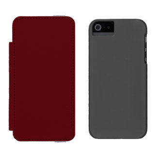 Royal Rose Red in an English Country Garden Incipio Watson™ iPhone 5 Wallet Case