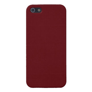 Royal Rose Red in an English Country Garden iPhone 5/5S Case