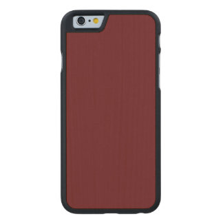 Royal Rose Red in an English Country Garden Carved® Maple iPhone 6 Case
