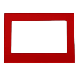 Royal Rose Red  Magnetic Picture Frame Template