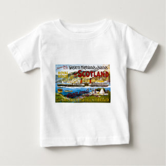 Royal Route of Scotland Summer Tours Vintage Infant T-Shirt