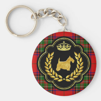 Royal Scottie Key Ring
