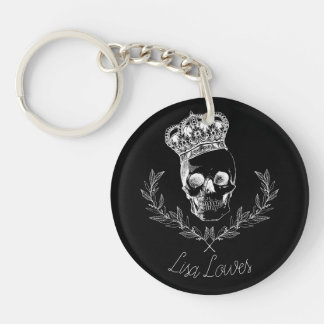 Royal Skull Key Ring