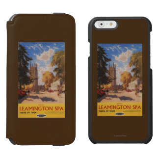 Royal Spa, Street View British Railways Poster Incipio Watson™ iPhone 6 Wallet Case