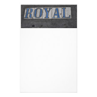 royal st tiles custom stationery
