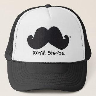 Royal Stache trucker hat