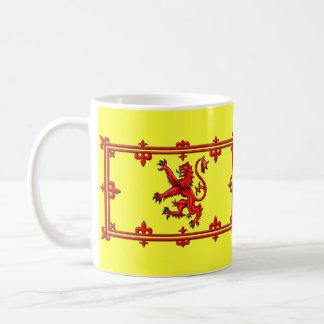 Royal Standard Of Scotland Basic White Mug