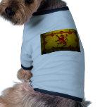 ROYAL STANDARD OF SCOTLAND DOG T SHIRT