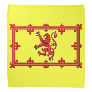 Royal Standard Of Scotland Head Kerchief