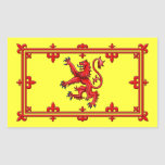 Royal Standard Of Scotland Rectangle Stickers