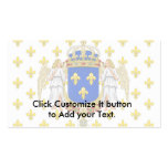 Royal Standard Of The Kingdom Of France, France Business Cards