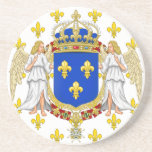 Royal Standard Of The Kingdom Of France, France Coasters