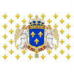 Royal Standard Of The Kingdom Of France, France Acrylic Cut Outs
