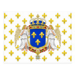Royal Standard Of The Kingdom Of France, France Post Card