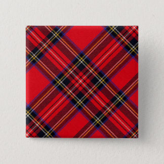 Royal Stewart 15 Cm Square Badge