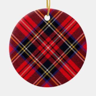 Royal Stewart Christmas Ornament