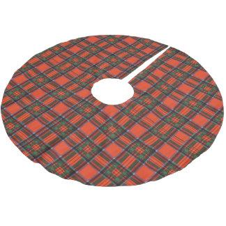 Royal Stewart clan Plaid Scottish tartan Brushed Polyester Tree Skirt