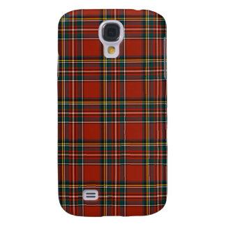 Royal Stewart Classic Red Scottish Tartan Galaxy S4 Case
