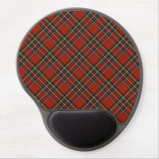 Royal Stewart Classic Red Scottish Tartan Gel Mouse Mat
