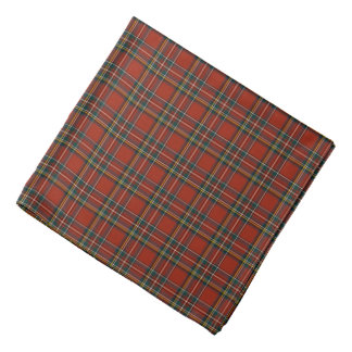 Royal Stewart Classic Red Tartan Bandana
