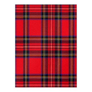 Royal Stewart 6.5x8.75 Paper Invitation Card