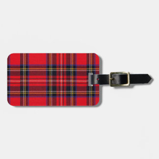 Royal Stewart Luggage Tag