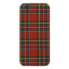 Royal Stewart Tartan Classic Red Scottish Plaid iPhone 5/5S Cover