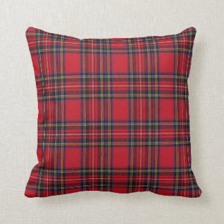 Royal Stewart Tartan Cushion