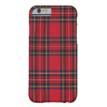 Royal Stewart Tartan iPhone 6 Case