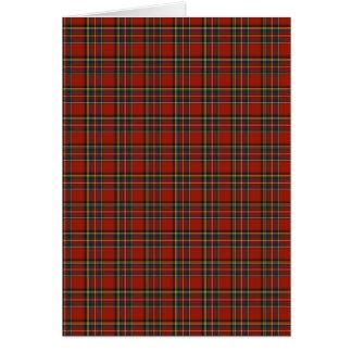 Royal Stewart Tartan Note Card