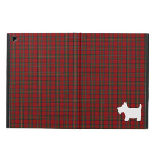 Royal Stewart Tartan Pattern with Scottie Dog Case