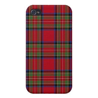 Royal Stewart Tartan Plaid Iphone4 Case Cover For iPhone 4