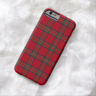 Royal Stewart Tartan Plaid iPhone 6 case Barely There iPhone 6 Case