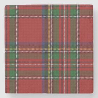 Royal Stewart Tartan Plaid Stone Coaster