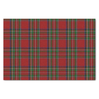 Royal Stewart Tartan Plaid Tissue Paper