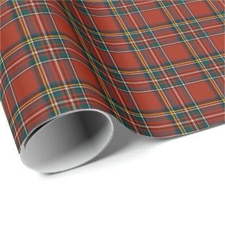 Royal Stewart Tartan Wrapping Paper