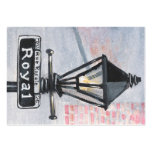Royal Street Lamp Post Business Card