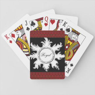 Royal sun red and black cards