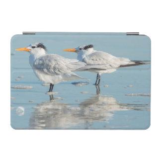 Royal Terns on beach iPad Mini Cover