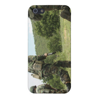 Royal Thai Marines rush forward to secure the s iPhone 5 Cover