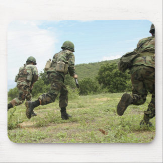 Royal Thai Marines rush forward to secure the s Mouse Pad